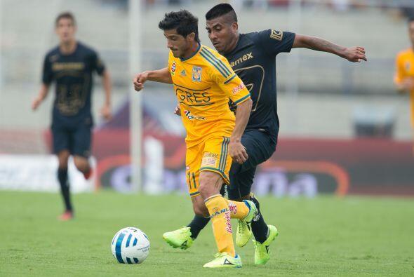 Tigres rectificó su planteamiento, sacando del campo a Dami&aacut...