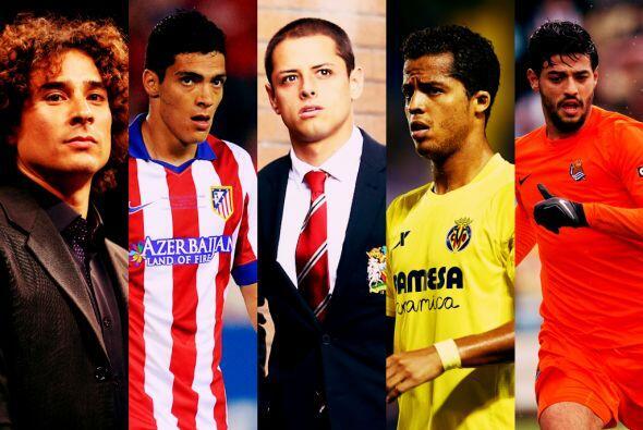 Son ocho los jugadores mexicanos que actuarán en el fútbol ibérico en la...
