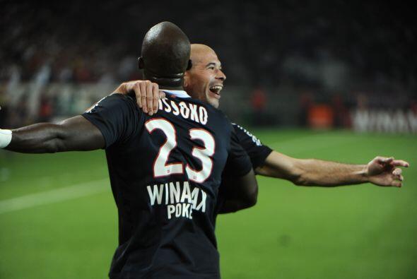 El zaguero francés destacó en la última victoria del París Saint-Germain.