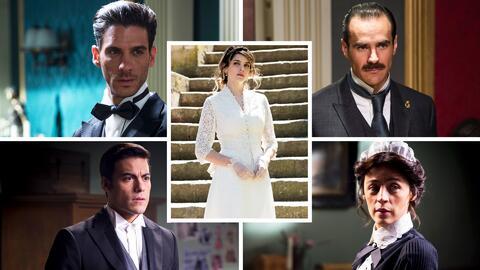 Vota por tus personajes favoritos de El Hotel de los Secretos