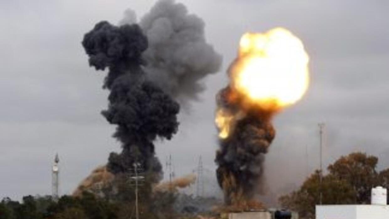 Ataque aéreo en Libia. (Imagen de archivo)