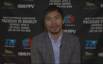 Manny Pacquiao habla de las razones detrás de su retiro y de su pelea co...