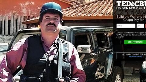 Promoción de la Ley El Chapo propuesta por el senador republicano de Tex...