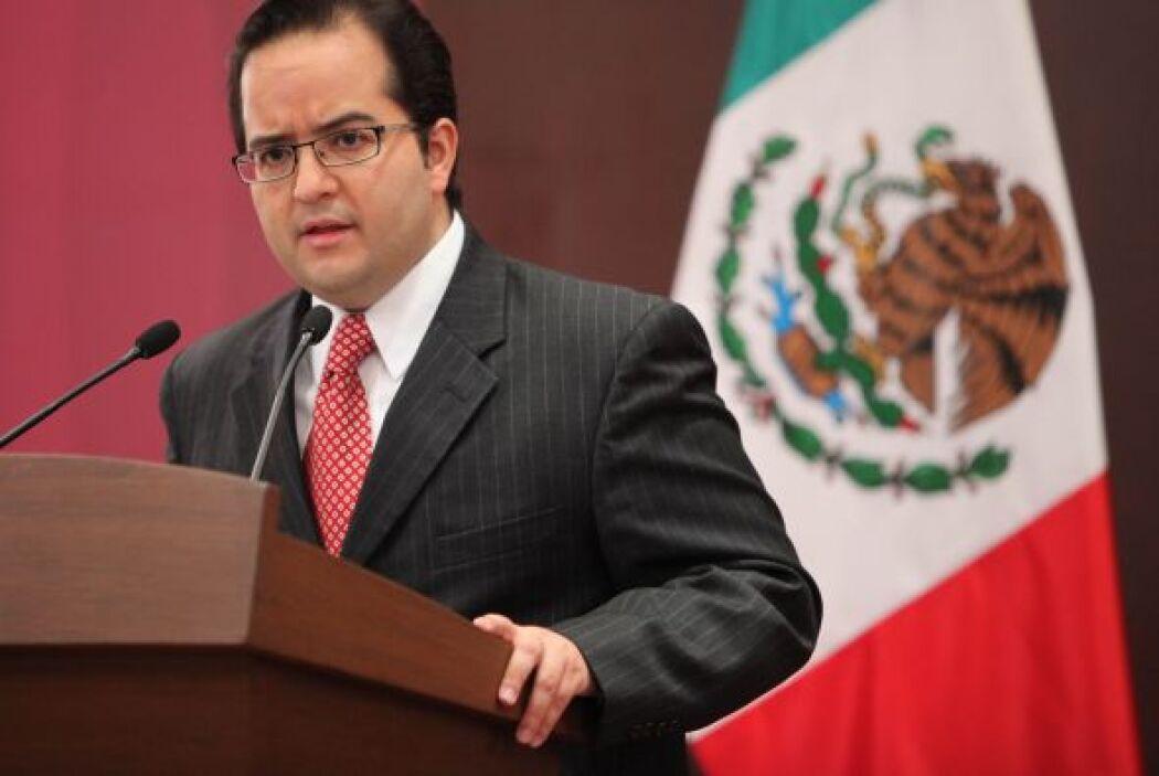 Alejandro Poiré, portavoz del gobierno en asuntos de seguridad, reiteró...