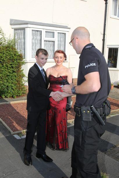 Nunca imaginó que los policías lo buscaban a él.