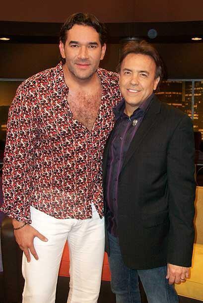 Lalo Santamarina también narra sus éxitos en las telenovelas.