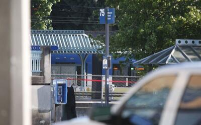 La policia investiga el ataque en Portland, Oregon.