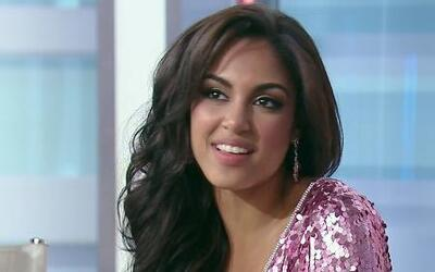 Nabila se sorprendió al escuchar que era la segunda finalista del concurso