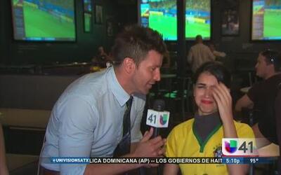 Fanáticos brasileños, de luto por su selección