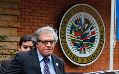 El secretario general de la OEA, Luis Almagro, ha jugado un papel clave...