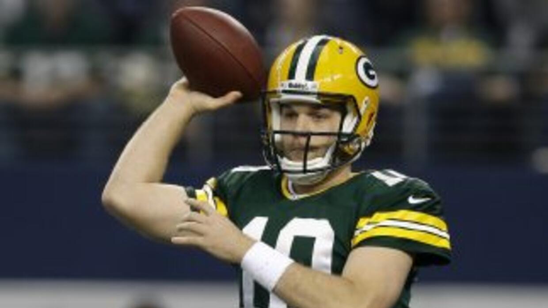 Matt Flynn brilló contra los Cowboys (AP-NFL).