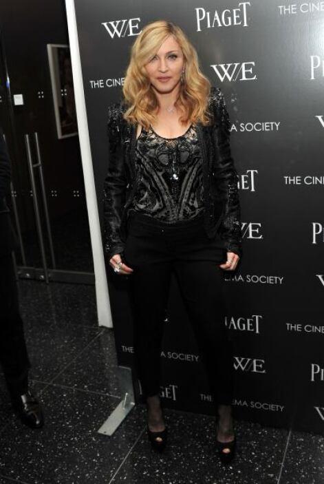 Madonna adora las brillantes lentejuelas para prender la envidia en las...