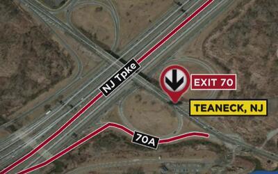 Dos personas perdieron la vida en un accidente de tráfico en New Jersey...