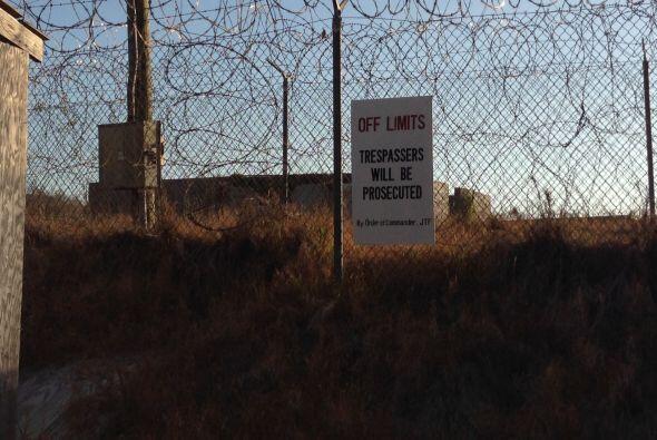 Fue acondicionada como campo de concentración tras la invasi&oacu...