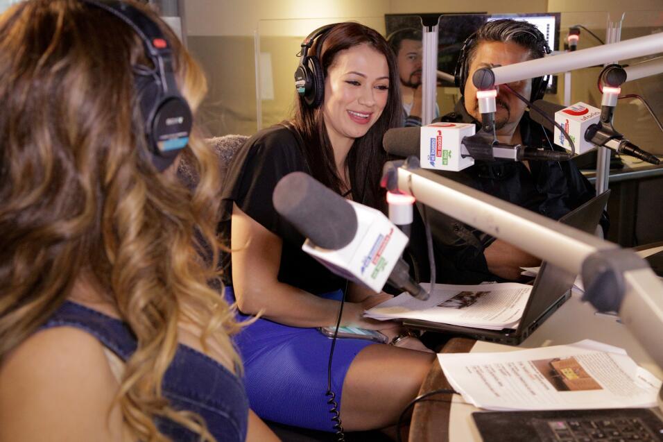 La Bronca llegó con una sorpresa al show llamada Carla Medrano.