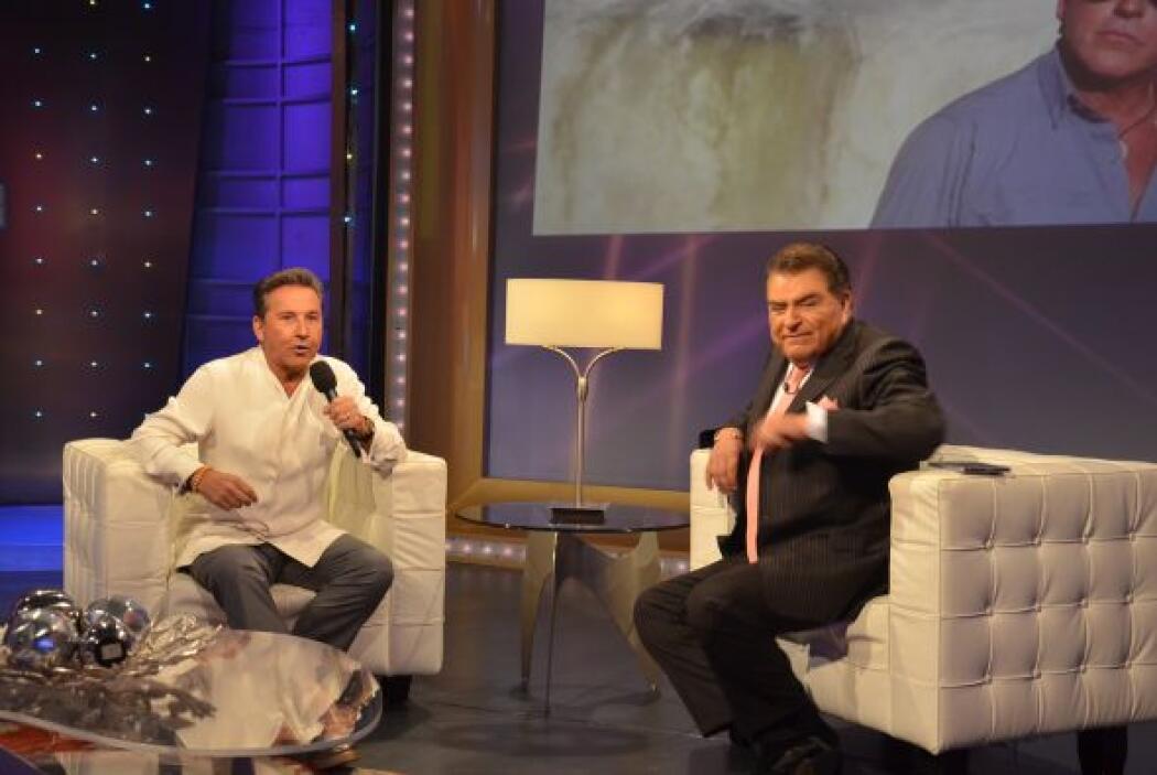 El extraordinario cantante venezolano, Ricardo Montaner vino al programa...