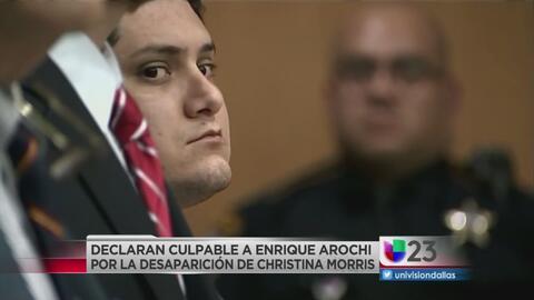 Declaran culpable a Enrique Arochi