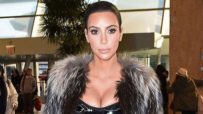 ¿Cómo arrancó Kim Kardashian el 2015?