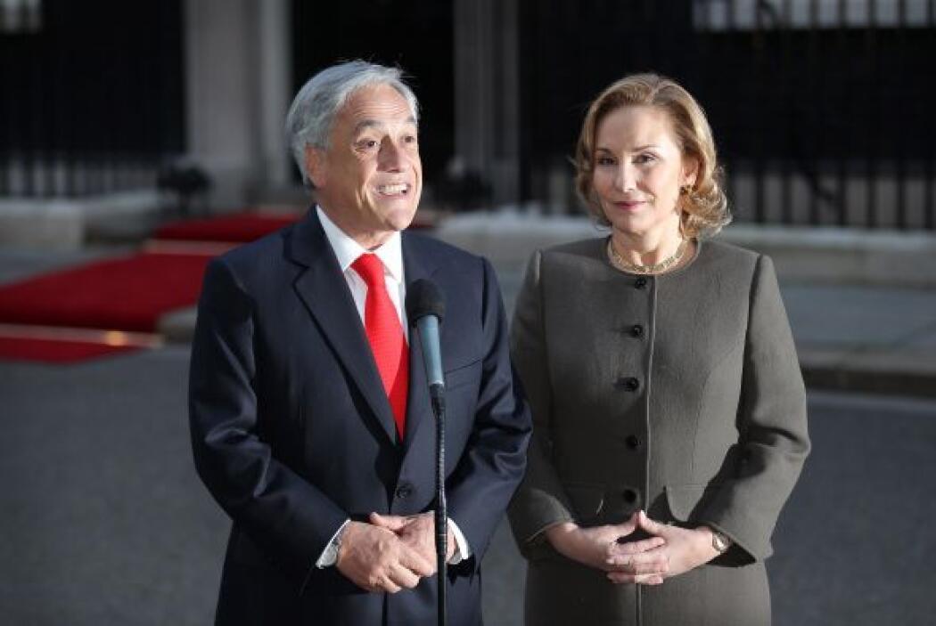 El presidente de Chile Sebastián Piñera está de visita por Francia, en e...