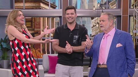 Ricky Martin se muda a Las Vegas y llegó a contarnos todo sobre el show...
