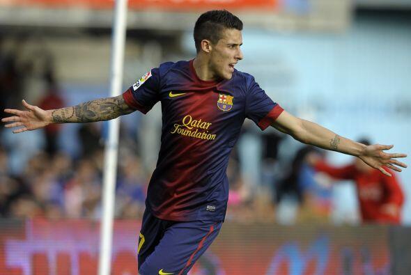 Un pase de Messi dejó a Tello en un mano a mano con el portero y...