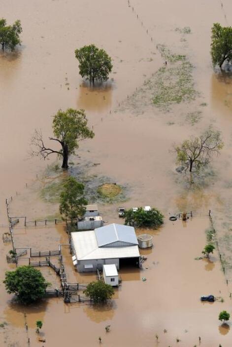 Los niveles de agua de los ríos superan los récords por lo que las ciuda...