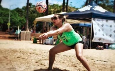 Tia Thompson, jugadora de voleibol transgénero