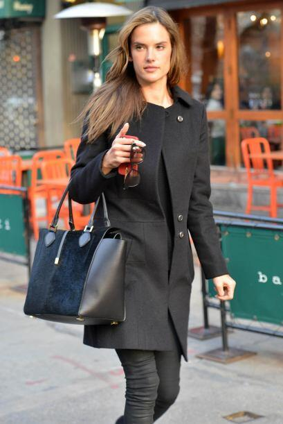 No por nada, Alessandra es una de las modelos más prestigiadas del medio...