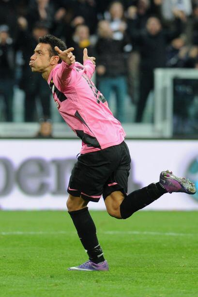 La victoria la aseguró Fabio Quagliarella al minuto 75 marcando el 2-0 f...