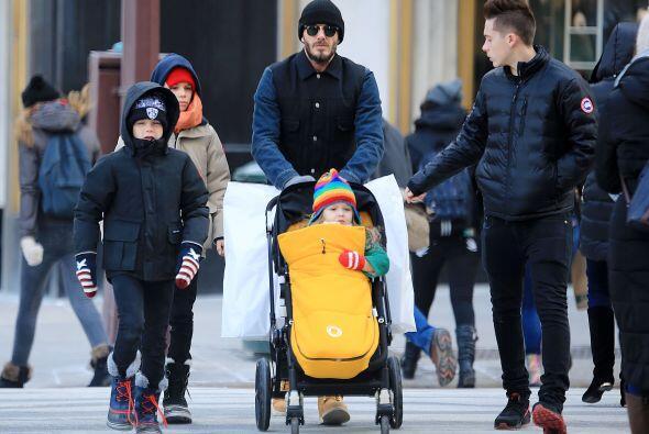 Brooklyn, Cruz, Harper y Romeo disfrutaron de pasar su tiempo a solas co...
