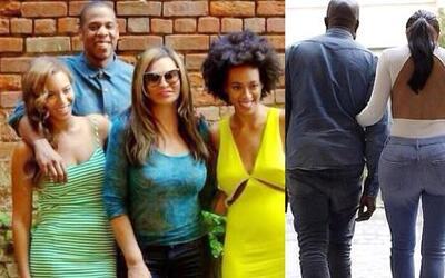 La linda reunión familiar de Beyoncé y las sensuales curvas de Kim Karda...