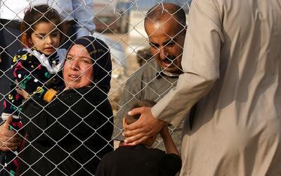 La toma de Mosul ha causado miles de desplazados.