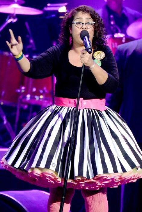 La Marisoul, vocalista de la nominada banda Santa Cecilia, participará c...