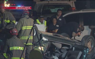 """""""El conductor intentó huir y abandonar a la víctima"""": testigo de choque..."""