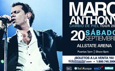 Marc Anthony en Chicago