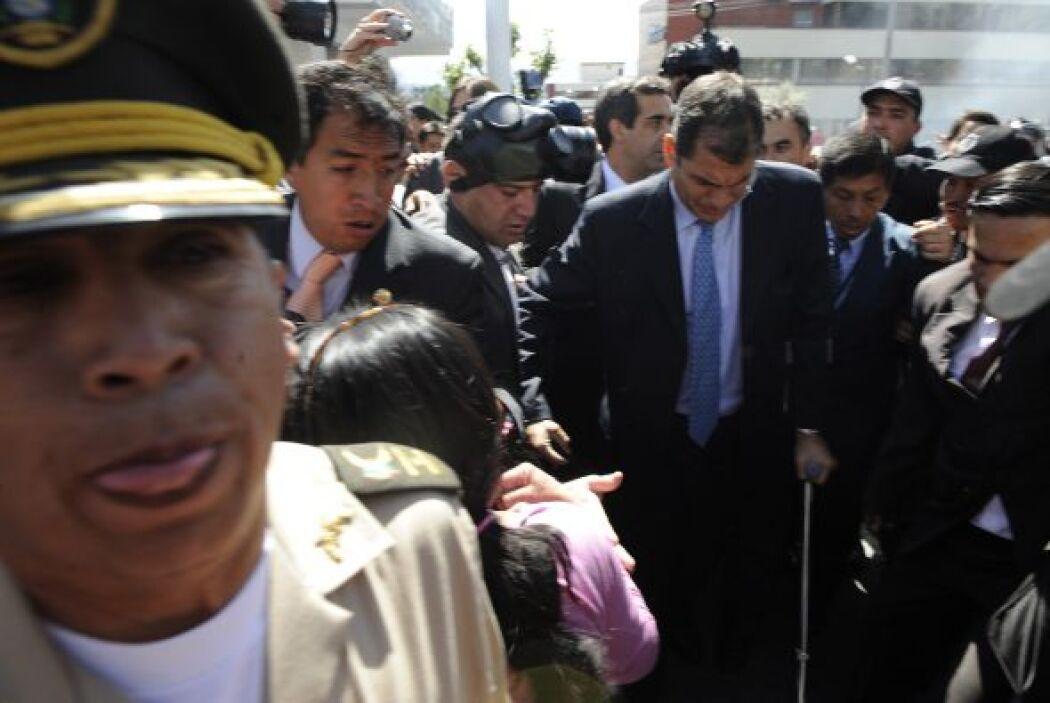 En abril de este año el nivel de aprobación de la gestión de Correa, que...