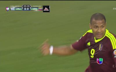 Venezuela sorprende en la Copa América