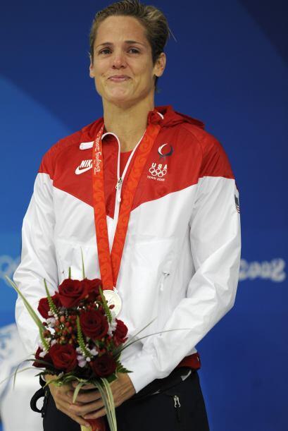 En los Juegos Olímpicos Beijing 2008, Dara tenía 41 años de edad y logró...