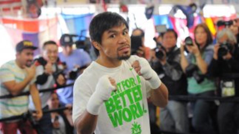 Manny Pacquiao tiene como prioridad el boxeo.