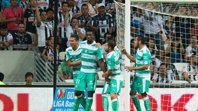 Monterrey 1-1 Santos: Djaniny le apagó la luz a Monterrey
