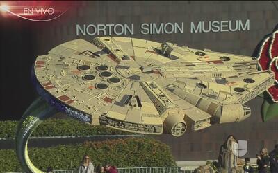 'Star Wars' presente en el desfile