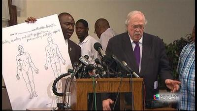 Resultados de la autopsia independiente a Michael Brown