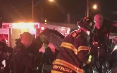 Accidente múltiple en El Bronx deja a cuatro personas heridas