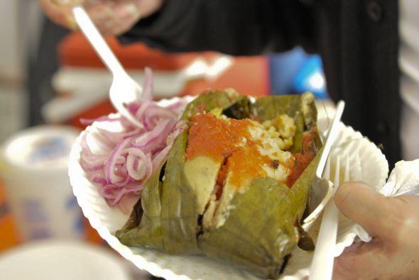 Pero los tamales y los atoles son de muchos países y de muchos sabores,...