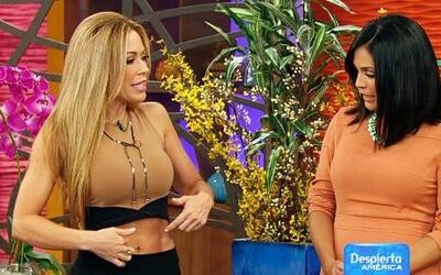 Dietas para un estómago plano con Claudia Molina