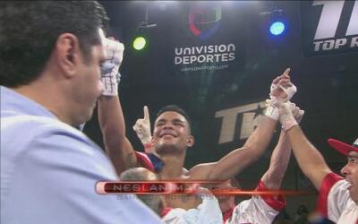 Neslan Machado le ganó a Ernesto Garza una guerra de pitbulls