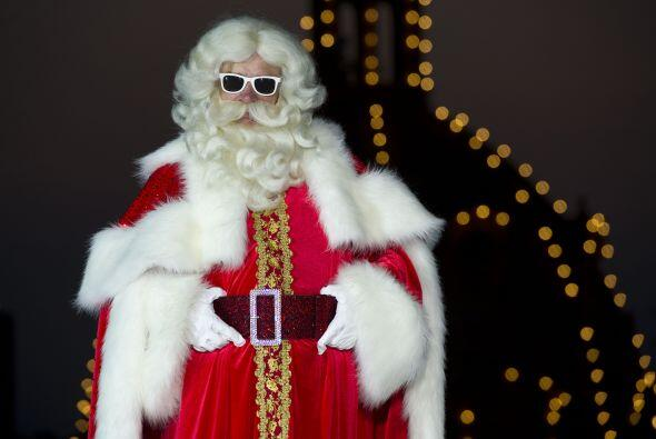 Santa Claus ya es toda una estrella de cine.