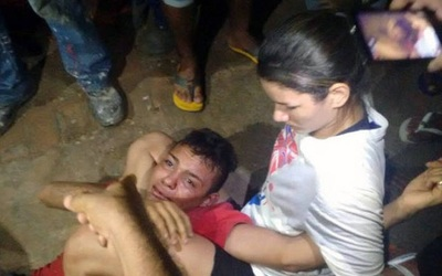 La peleadora brasileña sometió a uno de los asaltantes
