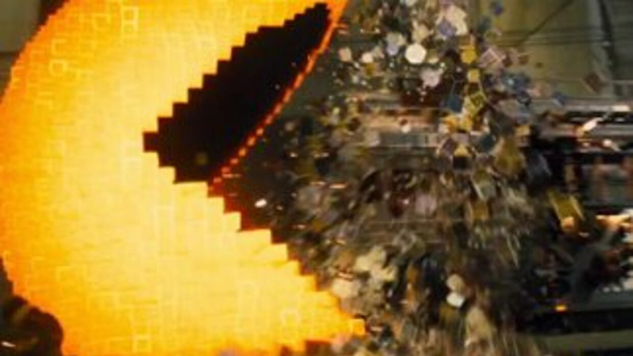 The new Pixels movie hitting theaters this summer looks amazing!