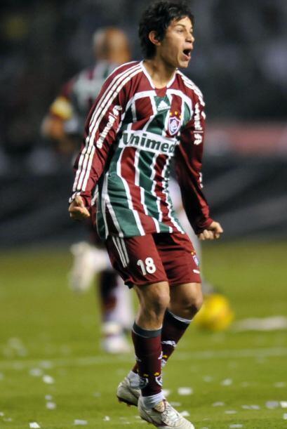 Darío Conca, el cerebro del Fluminense, club que lo adoptó...